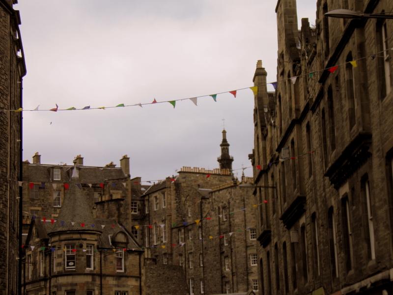 Corpus maailmalla: Ekskursio Edinburghiin!