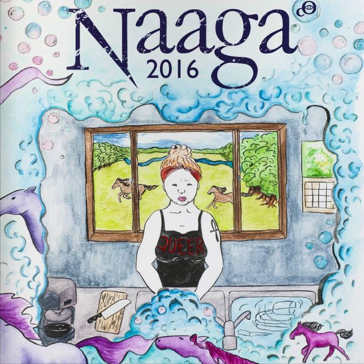 Naaga 2016 on ilmestynyt - tuore ainejärjestölehti luettavissa myös verkossa